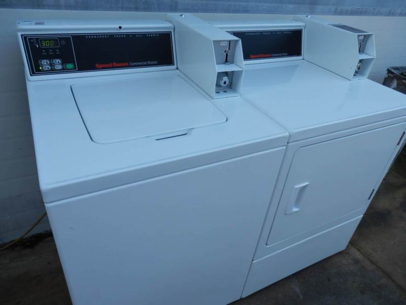 Speed Queen Commercial Coin Operated Washing Machines