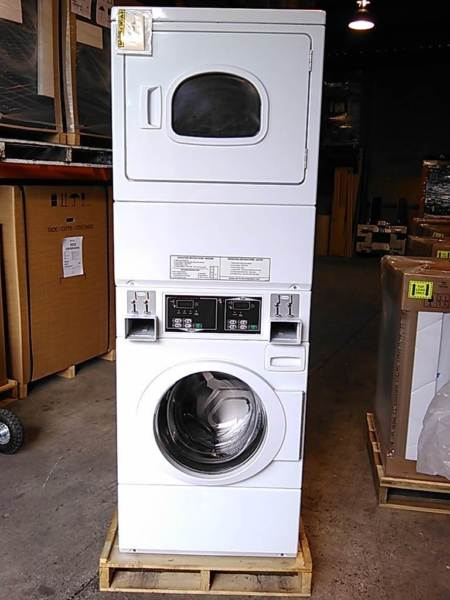 Speed Queen Coin Operated Stacked Washer Dryer