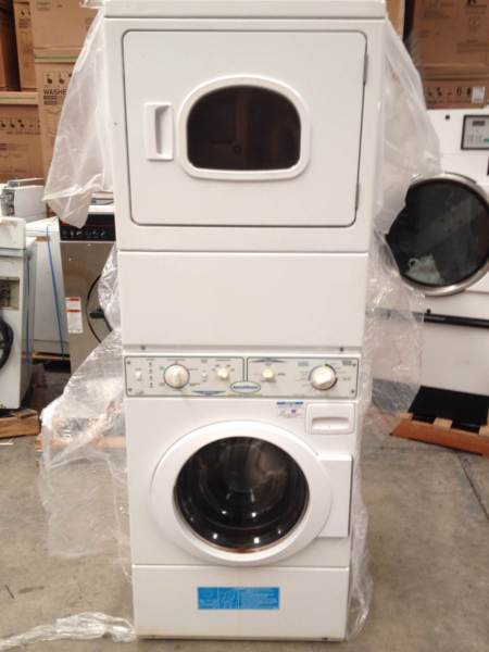 Speed Queen Commercial Stacked Washer Dryer