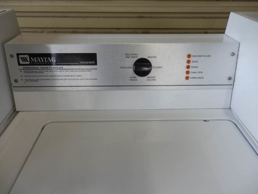 Maytag Coin Operated Commercial Top Load Washing Machine