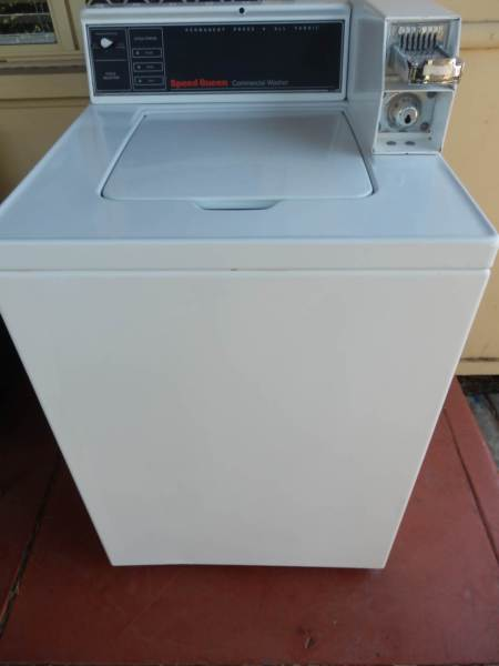 Speed Queen Coin Operated Top Load Washing Machine