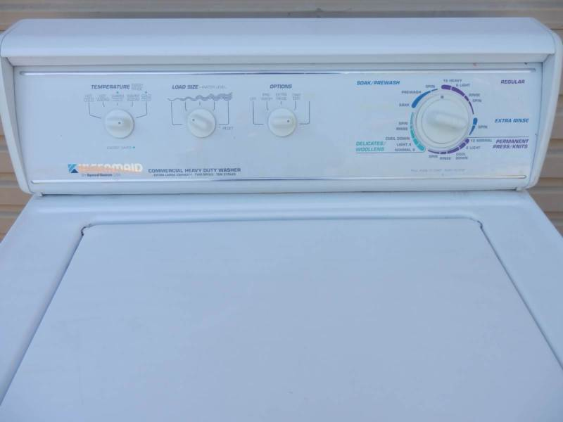 Kleenmaid Speed Queen Commercial Residential Washing Machine