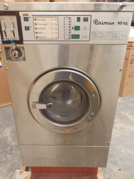 Primus Commercial 10kg Front Load Washing Machine