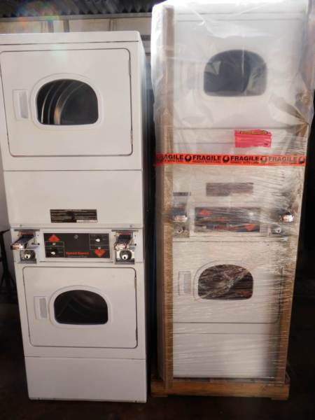 Speed Queen Commercial Coin Operated Stacked Dryer Dryer