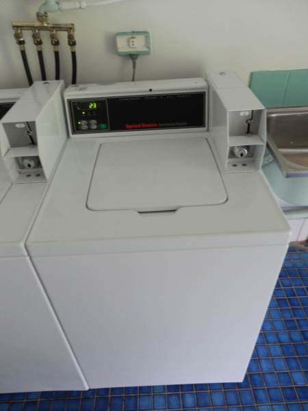 Speed Queen Coin Operated Electronic Top Load Washing Machine
